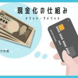 クレジットカード現金化の仕組みの画像